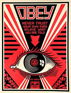 Obey Eye (Levi's Edition) Print